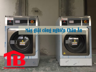 Top 3 máy giặt công nghiệp Châu Âu được sử dụng nhiều nhất 2018