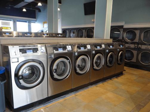 Máy giặt công nghiệp cửa trước 1